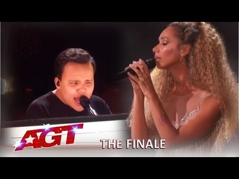 Kodi Lee With Leona Lewis Grand Finale Performance! | America's Got Talent 2019 (видео)
