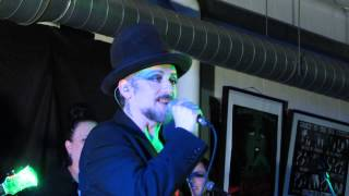 Boy George - Nice & Slow - 13.Nov 2013 - live acoustic in London (Rough Trade)