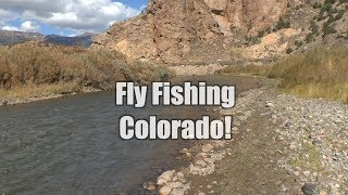 Fly Fishing The Arkansas in Colorado