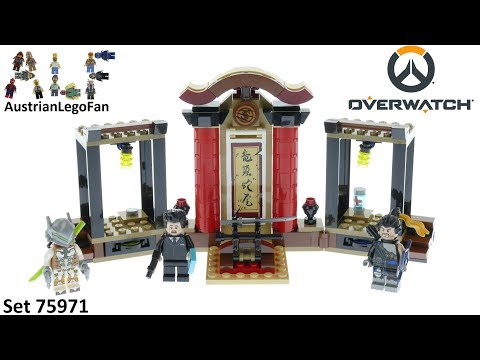 Vidéo LEGO Overwatch 75971 : Hanzo contre Genji