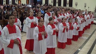 Rito de Investidura de Novos Coroinhas - Missa de Investidura de Novos Coroinhas e Dia do Catequista (25.08.2018)