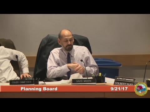 Planning Board 9.21.2017