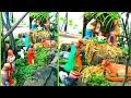 Christmas crib outdoor| Ecofriendly Christmas crib| Christmas crib in garden | Christmas kudil