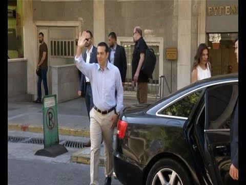 Eξιτήριο απο το νοσοκομείο πήρε ο Αλέξης Τσίπρας