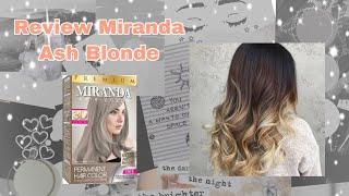 MODAL CUMA 20 RIBU BISA SEBAGUS INI?! Review Miranda Hair Colouring Premium Ash Blonde