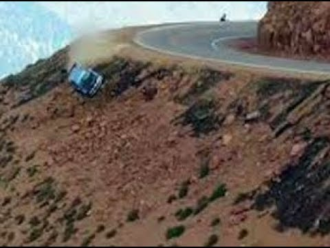 Cars Falling Off Cliffs And Bridges
