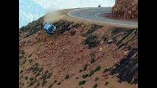 Cars Falling Off Cliffs and Bridges