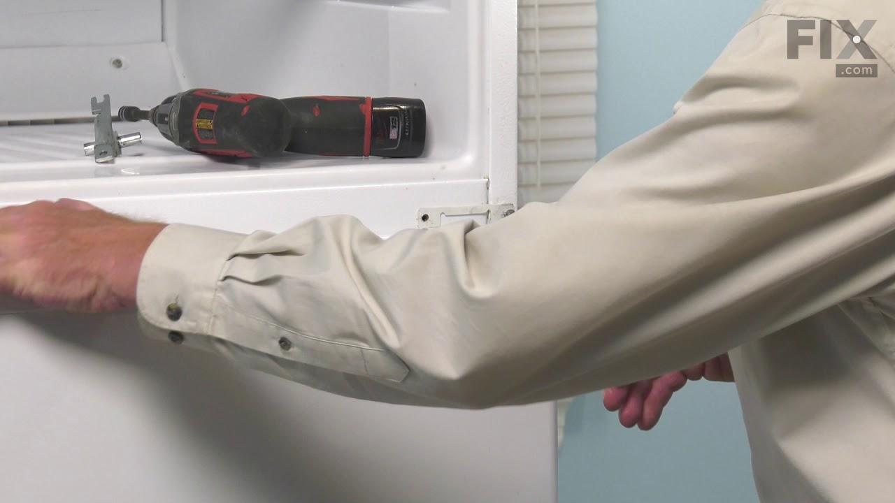 Replacing your Whirlpool Refrigerator Hinge Bracket
