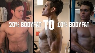 FROM 20% TO 10% BODYFAT IN 12 WEEKS!