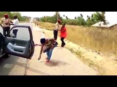 Disgraceful FRSC official assault unarmed woman