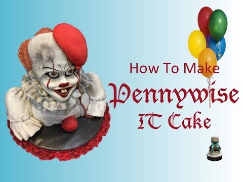 How To Make Pennywise IT Cake