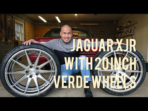 I Bought 20 Inch Custom Verde Wheels for My Jaguar XJR