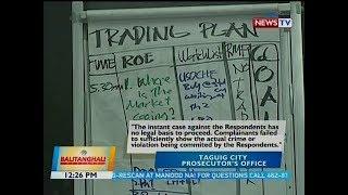 BT: Kasong isinampa ng NBI laban sa kumpanyang Learn to Trade Smartchart Philippines, ibinasura