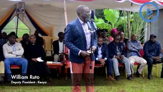 DP Ruto calls for quick implementation of the BBI report.
