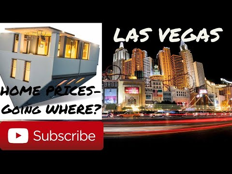Las Vegas Home Prices - Where will they Go?