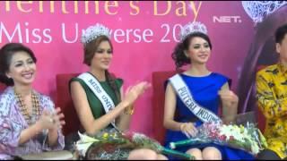 Entertainment News - Miss Universe senang dengan Budaya Indonesia