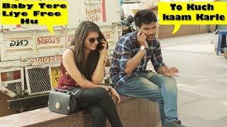 Epic Call Clash Prank on Cute Girls - Prank In India | Danger Fun Club