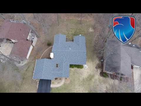 CHeck out this beautiful new roof with a nefore and after clip. The Owens Corning roof looks great! The...