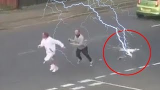 TOP 10 SHOCKING LIGHTNING STRIKES CAUGHT ON CAMERA