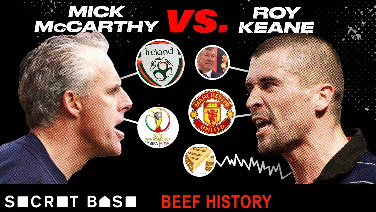 Roy Keane's World Cup beef with Mick McCarthy got him kicked off the Irish National Team thumbnail
