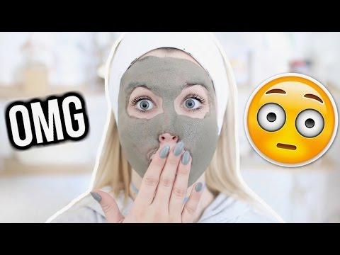 Le masque pour la personne pour la peau avec kouperozom