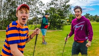 KICKED OFF A GOLF COURSE & POLICE COME!