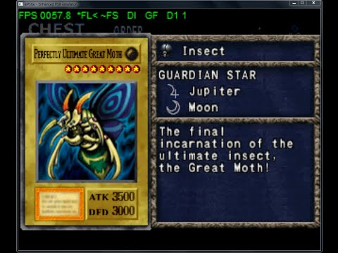 YUGIOH FM 2 - Perfectly Ultimate Great Moth - Library: 721/722
