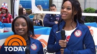 Gabby Douglas And Simone Biles On Their Roads To Rio And Personal Growth | TODAY