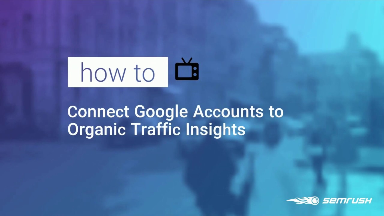Connecting Organic Traffic Insights with Your Google Accounts image 1