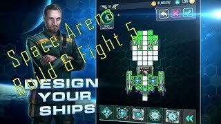 Space Arena: Build and Fight #5 - Hammerhead defeats Vega Destroyer!
