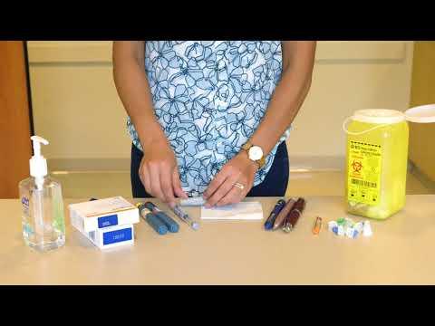 Verheilten Wunden bei Diabetes
