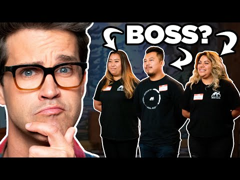 Can You Guess Who The Boss Is? (GAME)