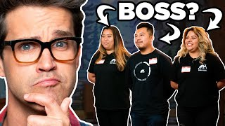 "Check out Lilly's show, ""A Little Late with Lilly Singh"" on NBC!  Today, we're joined by Lilly Singh to play the game 'Can You Guess Who The Boss Is?', where we talk to a group of coworkers and try our best to guess who the boss is! GMM #1650 Subscribe to GMM: https://www.youtube.com/user/rhettandlink2?sub_confirmation=1  Watch today's GMMORE: https://youtu.be/PGIET2pTCa0 Click the bell icon so you'll know when we add a new episode!  Get a copy of our new novel, The Lost Causes of Bleak Creek @ http://www.bleakcreek.com  See Rhett & Link play live in your city: tour tickets @ https://mythical.com/pages/tour  Want more GMM? Check out these playlists: Good Mythical Summer 2019 - https://www.youtube.com/playlist?list=PLJ49NV73ttrtoBAHBOlB8RZXnkyZ_XGOk Season 15 - https://www.youtube.com/playlist?list=PLJ49NV73ttrvfAOYCnPCjbWuoldJvinRj Will It? - https://www.youtube.com/playlist?list=PLJ49NV73ttrucP6jJ1gjSqHmhlmvkdZuf Taste Tests! - https://www.youtube.com/playlist?list=PLJ49NV73ttrsUefw67wH_pnEJ5KwJZ7lN Fancy Fast Food - https://www.youtube.com/playlist?list=PLJ49NV73ttrvsfEo9x6FR7HURKOHQRnHO  Pick up official GMM and Mythical Merch at https://mythical.com and https://www.amazon.com/mythical  Don't miss our weekly podcast, Ear Biscuits: https://applepodcasts.com/earbiscuits  Join the Mythical Society: https://www.mythicalsociety.com/  Follow Rhett & Link:  Instagram: https://instagram.com/rhettandlink Facebook: https://facebook.com/rhettandlink Twitter: https://twitter.com/rhettandlink Website: https://mythical.com/  Check Out Our Other Mythical Channels: Good Mythical MORE: https://youtube.com/goodmythicalmore Rhett & Link: https://youtube.com/rhettandlink Mythical: https://youtube.com/mythical   Want to send us something? https://mythical.com/contact  Submit your Wheel of Mythicality intro video here: https://bit.ly/GMMWheelIntro  Intro Animation by Dana Schechter https://www.danaschechter.com/ Intro & Outro Music by Mark Byers http://www.markaholic.com/ Supplemental Music from Extreme Production Music: https://www.extrememusic.com/ Mic: 'The Mouse' by Blue Microphones https://www.bluemic.com/mouse/  Get the GMM Set Gear! * Apple AirPort Extreme: https://amzn.to/2NnIvvk * Apple iPad Pro (12.9-inch, Wi-Fi, 64GB) - Space Gray (Latest Model) - MTEL2LL/A: https://amzn.to/2NnKXlw * Guardian Industrial Products DH-CP-4 3 Channel Rubber Cable Ramp (Straight): https://amzn.to/2NdshoR * Cartoni Focus HD Fluid Head with 3 Tube Ultra-Light Tripod, Mid-Level Spreader and Soft Case - Black: https://amzn.to/2X4i7X8 * ARRI SkyPanel S60-C LED Softlight (Blue/Silver, Edison): https://amzn.to/2YgM3km * Chef-Master 90050 Professional Heat Lamp, Silver: https://amzn.to/2Xa1Wwr * Samsung UN40H5003 40-Inch 1080p LED TV (2014 Model): https://amzn.to/2NdMU4e * Sony LMDA170 17"" Production Video LCD Monitor, 16:9 Native Aspect Ratio, 1080p Resolution: https://amzn.to/2YlB9tH * Behringer Xenyx 1002 Premium 10-Input 2-Bus Mixer with XENYX Mic Preamps and British Eqs: https://amzn.to/2Yeeqzl * Elgato Game Capture Card HD60 S - Stream and Record in 1080p60, for PlayStation 4, Xbox One & Xbox 360 (Renewed): https://amzn.to/2NdOBP6 * Pyle Universal Speaker Stand Mount Holder - Heavy Duty Tripod w/ Adjustable Height from 40"" to 71"" and 35mm Compatible Insert - Easy Mobility Safety PIN and Knob Tension Locking for Stability PSTND2: https://amzn.to/2JcCpce * JBL EON612 Portable 12"" 2-Way Multipurpose Self-Powered Sound Reinforcement: https://amzn.to/2Ndluvm * Bolt 500 XT 3G-SDI/HDMI Wireless TX/RX: https://amzn.to/2J1OeSk * Voigtlaender 17,5/0,95 Nokton 17.5 mm-17.5 mm Lens: https://amzn.to/2JjUCEP * Blackmagic Design Micro Converter SDI to HDMI (with Power Supply) BMD-CONVCMIC/SH/WPSU: https://amzn.to/2J6iw6y * Panasonic H-HSA35100 F2.8 II ASPH 35-100mm Mirrorless Micro Four Thirds Mount POWER Optical I.S. LUMIX G X VARIO Professional Lens: https://amzn.to/2RAhIul * PANASONIC LUMIX Professional 12-35mm Camera Lens G X VARIO II, F2.8 ASPH, Dual I.S. 2.0 with Power O.I.S., Mirrorless Micro Four Thirds, H-HSA12035 (2017 Model, Black): https://amzn.to/2J9WH5S * Decimator Design DMON-12S 