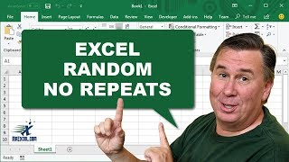 """Learn Excel 2010 - """"Random with No Repeats"""": Podcast #1471"""