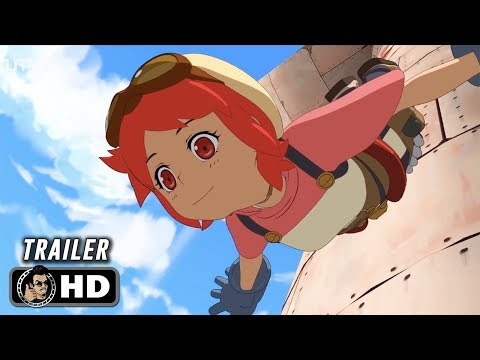 EDEN Official Trailer (HD) Netflix Anime
