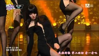 【HD繁體中字】140116 AOA - Miniskirt @ M!Countdown 1080p