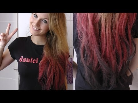 [HAIR TUTORIAL]: Haarkreide / Ombre Hair
