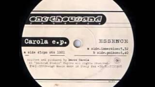 Marco Carola - Poison - Carola E.P - Essence