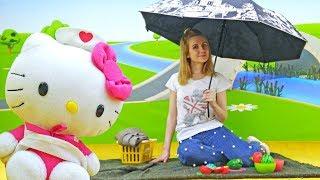 Китти идет на пикник - Мультики для детей - Развивающее видео