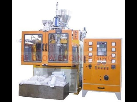 Pesticide Bottle Manufacturing Machine