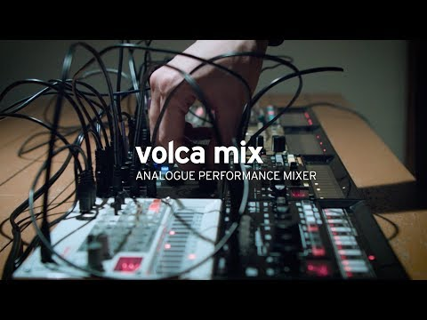 KORG volca mix – ANALOGUE PERFORMANCE MIXER