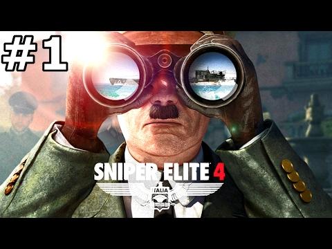 Gameplay de Sniper Elite 4 Deluxe Edition