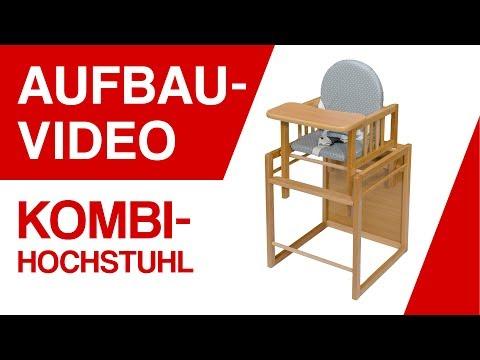 Aufbauvideo BABY-PLUS Kombi-Hochstuhl