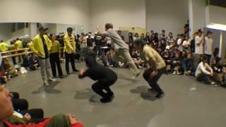 立正大学【君がくれた夏】 vs 日本体育大学【Funka Beat Squad】 BEST16 / DANCE@LIVE 2017 RIZE KANTO CLIMAX