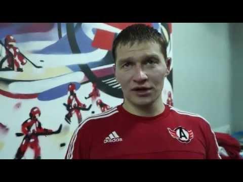 Алексей Симаков - о победе над СКА и историческом матче в Питере в 2010