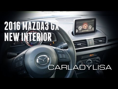 2016 MAZDA3 GX | First Look at New Interior