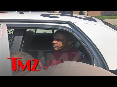 لحظة إلقاء القبض على قاتل مغني الراب نيبسي هاسل