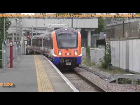 BRAND NEW Full Journey On The London Overground From Barking To Gospel Oak