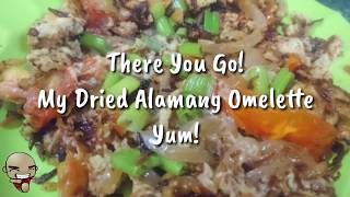 preview picture of video 'How to Cook Omelette with Dried Alamang - Pinoy Food | Food Vlog'