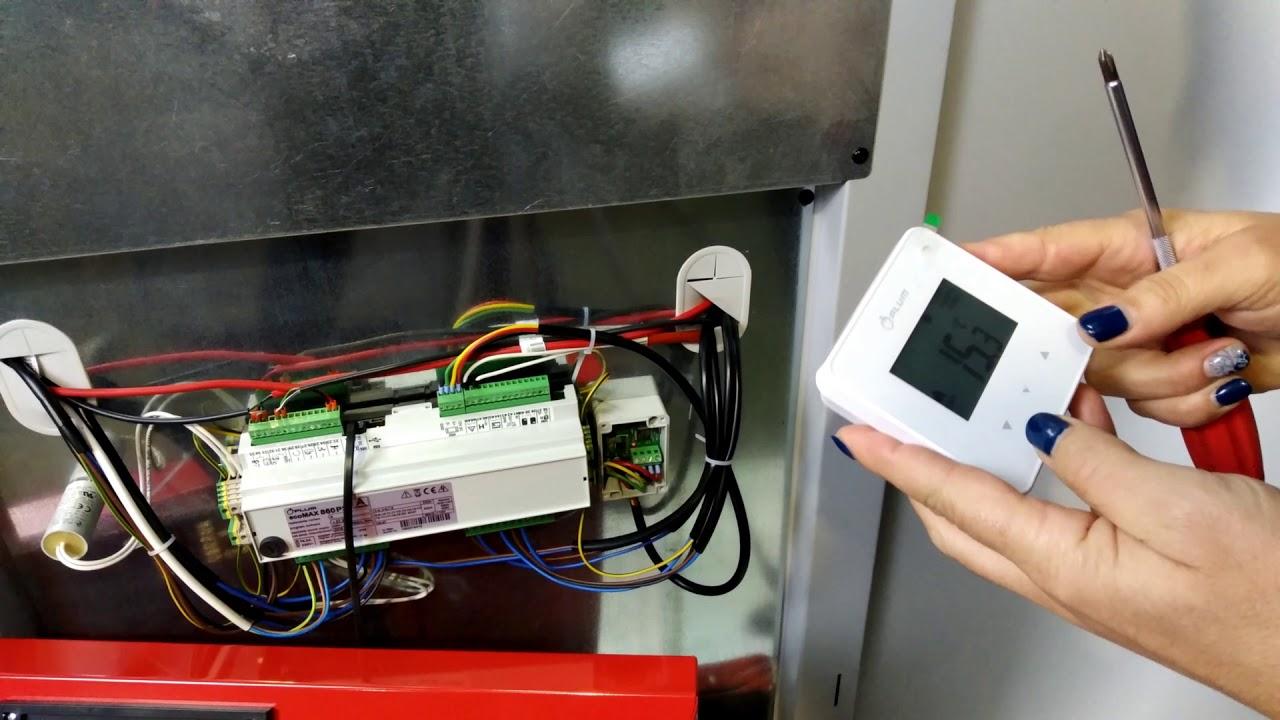 Caldeira #BiomasseP - Parte 3 Configuração de Termostato